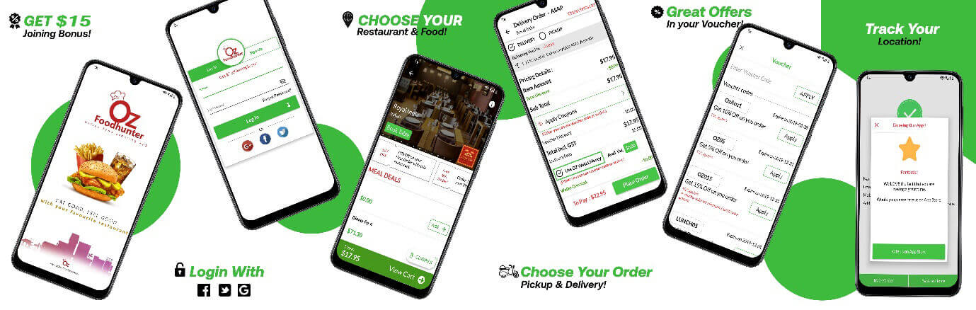 Ozfoodhunter app