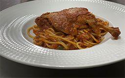 Spaghetti Duck Ragu