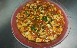 Ma Po's Chilli Bean Curd (Minced meat)