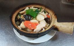 Combination Bean Curd Hot Pot