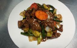 Braised Beef with Mushroom