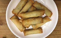 Fried Vegetarian Spring Roll (10 Pcs)
