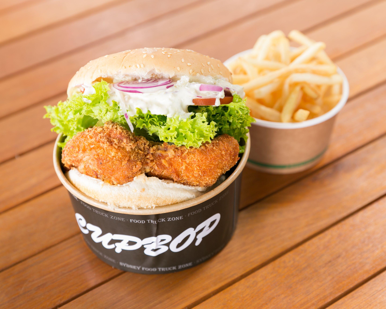 Chicken Katsu burger
