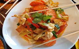 Pad Satay (Peanut) Chicken