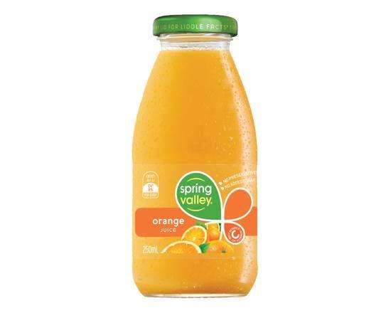 375ml Spring Valley juice- Orange