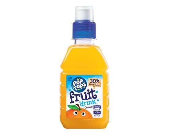 250ml Pop Tops- Orange