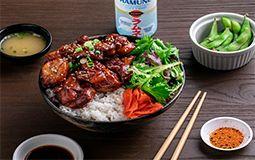 Teriyaki Chicken with Rice
