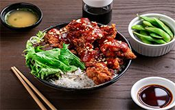 Honey Chilli Chicken with Rice