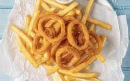 4 Calamari & Chips