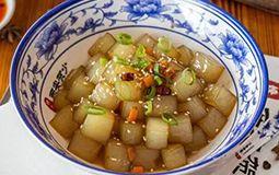Stir Fried Mung Bean Jelly