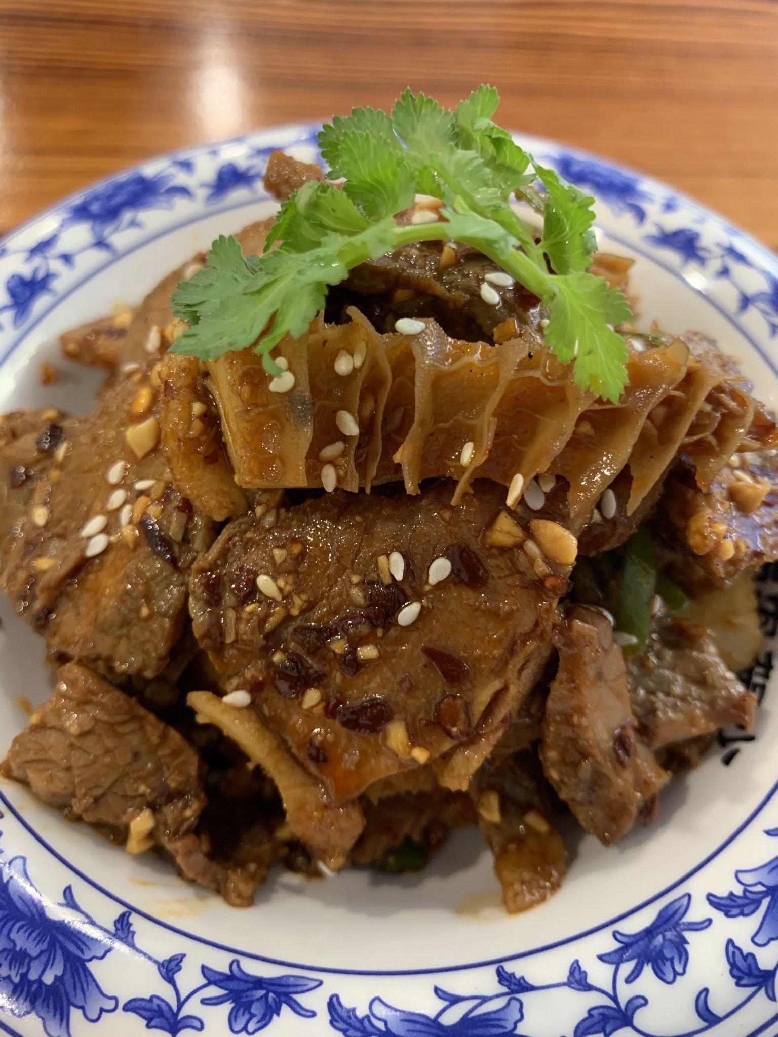 Spicy Beef Combo Salad