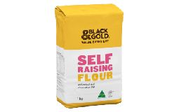 Black & Gold Flour Self Raising 1kg