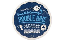 Community Co Cheese Double Brie 125g