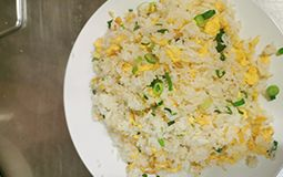 Fried Rice with Egg and Spring Onion
