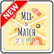 Mix n Match Pizza