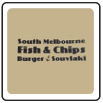 South Melbourne fish and chips burger