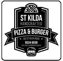 St Kilda Handcrafted Pizza & Burger