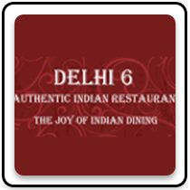 Delhi 6 Authentic Indian Restaurant